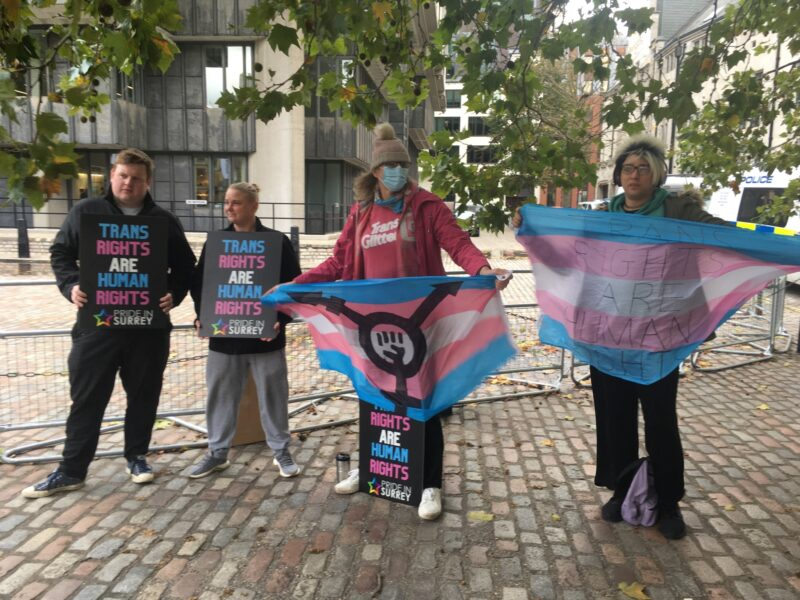 Pride in Surrey slam the LGB Alliance and anti-trans Police & Crime commisioner